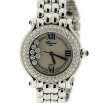 Chopard Happy Sport Factory Diamonds Stainless Steel