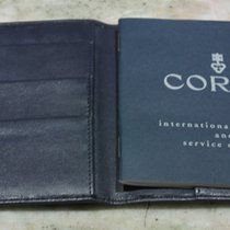Corum vintage kit leather wallet and booklet  warranty and...