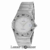 Omega Men's Unisex Constellation 1512.30.00 Steel Date...