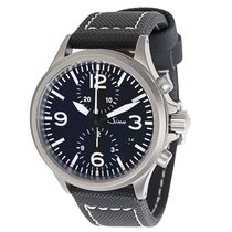 Sinn DuoChronograph 756 Men's Watch in Tegimented Steel
