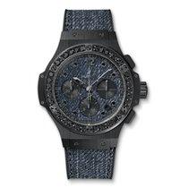 Hublot Big Bang Jeans Ceramic Black Diamonds