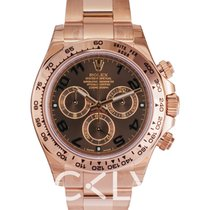 Rolex Daytona Chocolate/18k rose gold Ø40mm - 116505