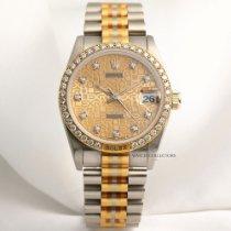 Ρολεξ (Rolex) Rare Rolex Midsize DateJust 68149 Tridor Diamond