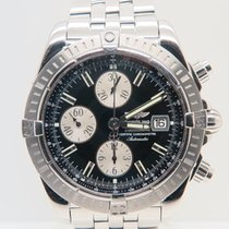 Breitling Chronomat Evolution Black Dial (Full Set)