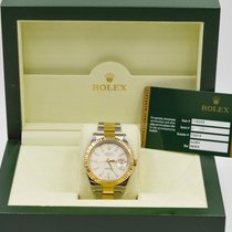 Rolex Datejust II Two Tone Ivory Index Dial 116333