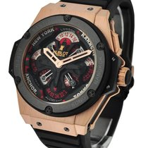 Hublot 771.OM.1170.RX King Power Big Bang Unico GMT King Gold...