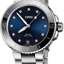 Oris Aquis Date Diamonds 36.5mm 01 733 7731 4195-07 8 18 05P