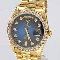 Rolex Day Date LC100 mit Customer Diamant Blatt und Lünette