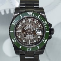 "Rolex Submariner ""Military Skull"" by Montre Noire"