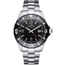 Davosa Swiss Nautic Star 16347215 Analog Men Wrist Watch Steel...
