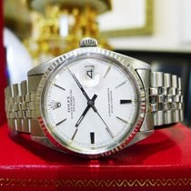 Rolex Oyster Perpetual Datejust Ref: 1601 Steel White Gold...