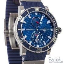 Ulysse Nardin Maxi Marine Diver Titanium Blue Rubber Automatic...