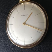 Juvenia MFG Swiss - 21 jewels - 14 kt gold - pocket watch - 1971