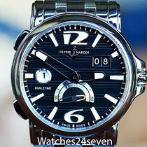 Ulysse Nardin GMT Big Date Dual Time Black Dial Automatic ...