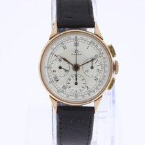 Omega Vintage Chronograph 27 CHRO C12 14K Rose Gold