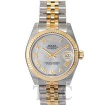 Rolex Datejust Lady 31 Silver Steel/18k gold MOP Jubilee 31mm...