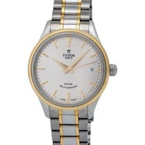 Tudor Style 34mm Steel/18K Yellow Gold Automatic Ladies Watch...