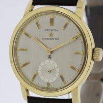 제니트 (Zenith) Chronometer from 1962 solid 18K Gold Watch Cal....