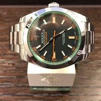 Rolex Millgauss Black Dial 116400GV