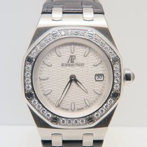 Audemars Piguet Lady Royal Oak 33mm Factory Diamond Bezel...