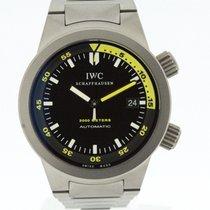 IWC Aquatimer Automatic Titanium Watch 3538 Box & Papers ...