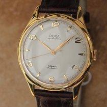 Doxa Swiss Made 35mm Manual Gold Plated Men's Luxury 1960s...