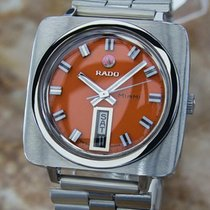 Rado Miami Swiss Made 1960s Mens Automatic Vintage Stainless...