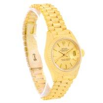 Ρολεξ (Rolex) President Ladies 18k Yellow Gold Champagne Dial...