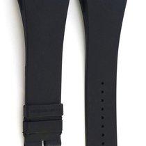 Richard Mille 63-02L Black Rubber Strap