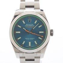 Rolex Milgauss Ref. 116400GV Blue MINT