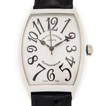 Franck Muller Cintree Curvex Stainless Steel Silver Automatic...