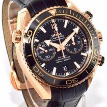 Omega Seamaster Planet Ocean Chronograph 18k Rose Gold -...
