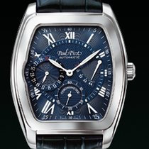 Paul Picot MAJESTIC POWER RESERVE Steel-Blue Dial &...