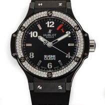 Hublot Bang Black Magic Skydive Dubai Ceramic Diamonds Automatic