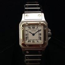 Cartier Santos  Galbe' Lady acciaio e oro 18 KT