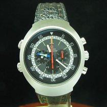 Omega Flightmaster Edelstahl Handaufzug Chronograph Herrenuhr...