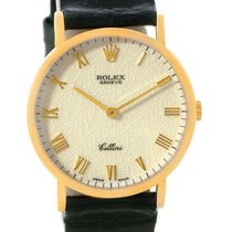 Rolex Cellini Classic Yellow Gold Anniversary Dial Watch 5112...