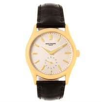 Patek Philippe Calatrava 18k Yellow Gold Mens Watch 5023