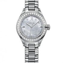 Ebel Onde Steel, Mother Of Pearl Dial, Diamond Bezel