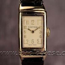 Cartier European Watch Co. Original 1935 Lady`s Reverso 18kt....