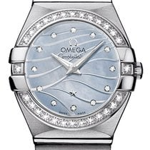 Omega Constellation Brushed 24mm 123.15.24.60.57.001
