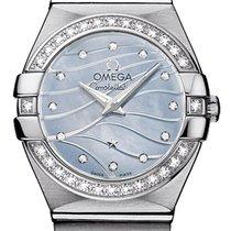 Omega Constellation Brushed 24mm 123.15.24.60.57.001