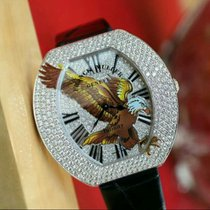 Franck Muller Infinity Eagle Gold and Diamonds Watch