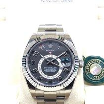 勞力士 (Rolex) Sky-Dweller 18K White Gold Black Dial [NEW]