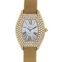 Chopard Ladies Chopard 18K Solid Gold W/ Factory Diamonds...