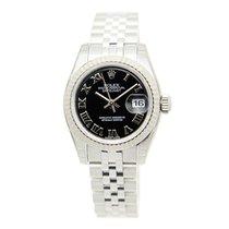 勞力士 (Rolex) Lady Datejust White Gold And Steel Black Automatic...
