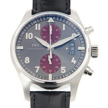 IWC Pilots Stainless Steel Gray Automatic IW387810