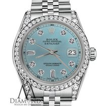 Rolex 26mm Datejust Ice Blue Diamond Dial Jubilee Bracelet...