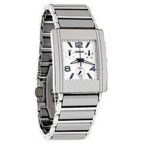 Rado Integral Mens Platinum Ceramic Swiss Chronograph Watch...
