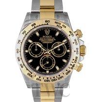 Rolex Daytona Black/18k gold Ø40mm - 116503